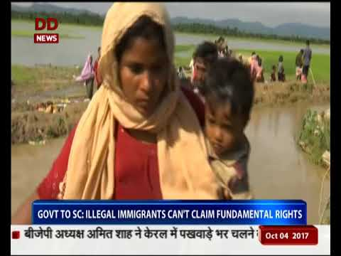Govt to SC: Illegal immigrants can't claim fundamental rights