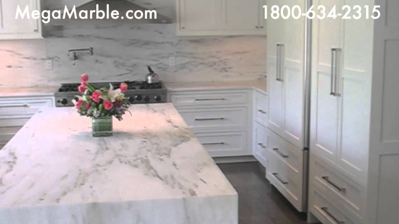 Calacatta Gold Marble Kitchen Countertops  YouTube