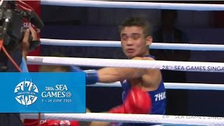 Boxing (day 5) Men's Bantam Weight (56kg) Finals Bout 70 | 28th Sea Games Singapore 2015