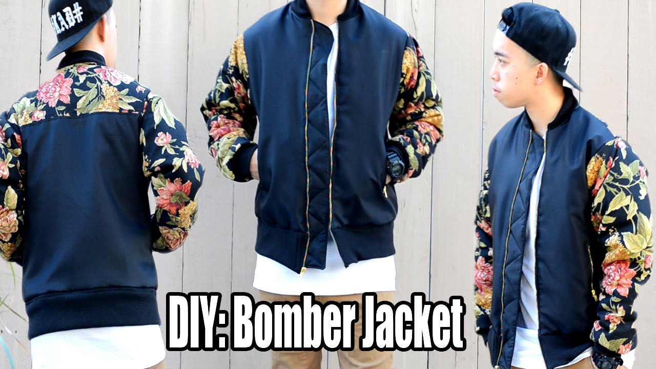 DIY: How to Make a Bomber Jacket | From Scratch #17 - YouTube