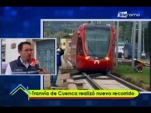 Tranvía de Cuenca realizó nuevo recorrido
