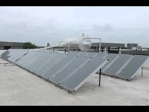Industrial Solar Water Heaters | Steelhacks Industries | Vitthal Udyognagar Gujarat