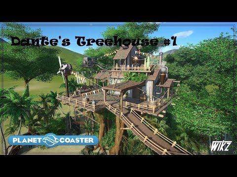 Let's Build #8 - Dante's Treehouse #1 (Planet Coaster)