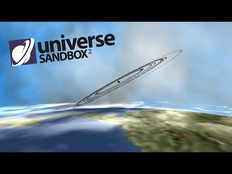 What If The Moon Had Rings, Universe Sandbox ²