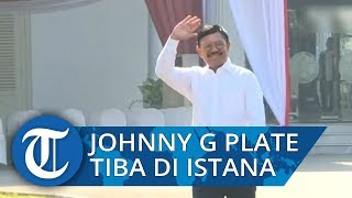 Johnny G Plate Penuhi Panggilan Presiden Joko Widodo ke Istana Merdeka
