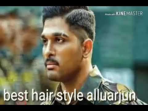 Allu Arjun New Hair Style Hair Style Youtube
