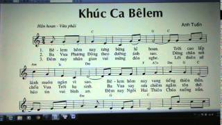 963. KHUC CA BELEM ( SATB / BA BE )