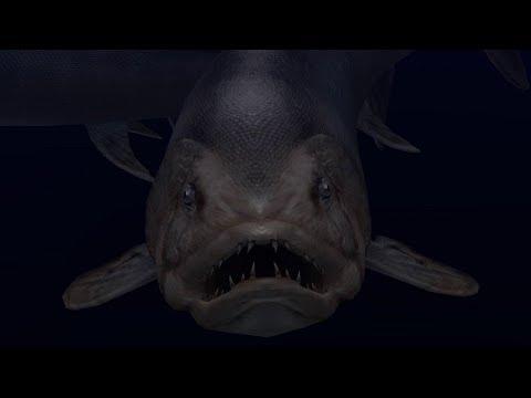 Ancient Ocean Screensaver - Scary Ocean (4K)