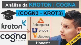 Análise Da #kroton #cogna #educação  #krot4 #cogn3  |  #anhanguera #unopar | #análisehonesta #bolsa