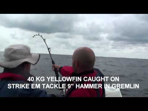 Marlin Fishing offshore Sydney with Strike em Tackle