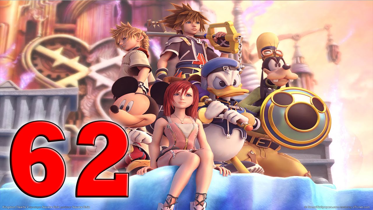 Kingdom Hearts 2 Final Mix 100% Walkthrough - Part 62 How To ...