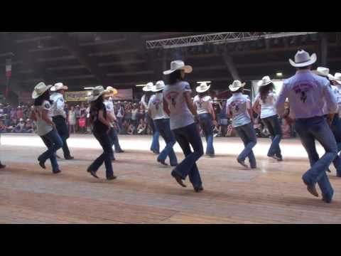 ONE HUNDRED line dance - Wild Country - Voghera 2017