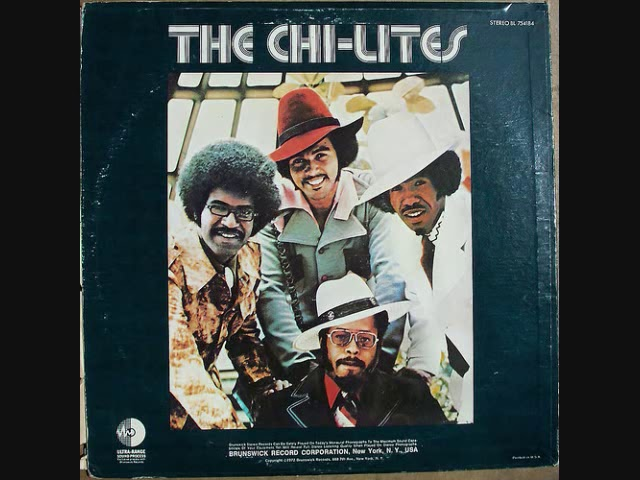 "The Chi-lites ""Have you seen her"" #1"