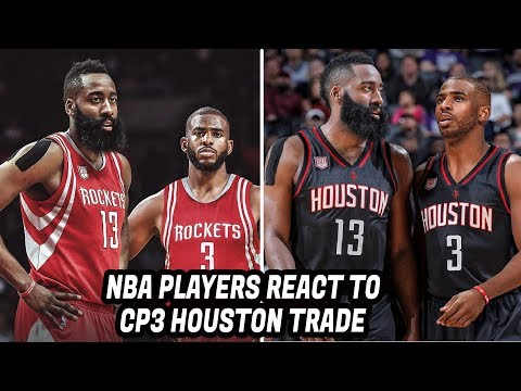 NBA Players REACT to Chris Paul Trade to the Houston Rockets!