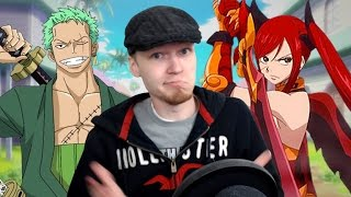 Let's Watch DEATH BATTLE | Zoro VS Erza (One Piece VS Fairy Tail)