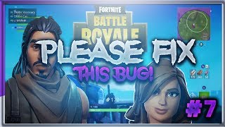 PLEASE FIX THIS BUG FORTNITE!!! FORTNITE SQUADS