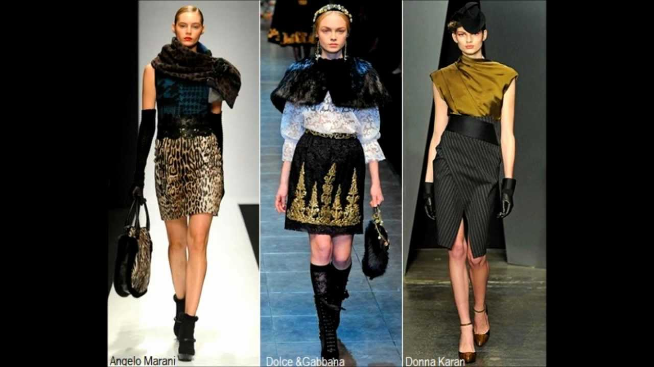 88f580828d5 Самые модные юбки осень-зима 2012-2013 - YouTube