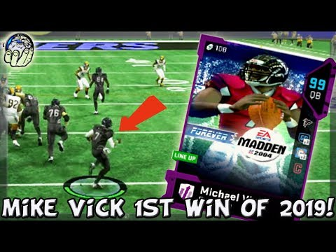 99 MIKE VICK GETS HIS 1ST WIN OF 2019! 99 GHOST MIKE VICK! Madden 19 Ultimate Team