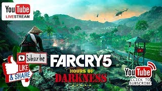 Far Cry 5: Hours Of Darkness - Action Movie  Mode - Live stream Now