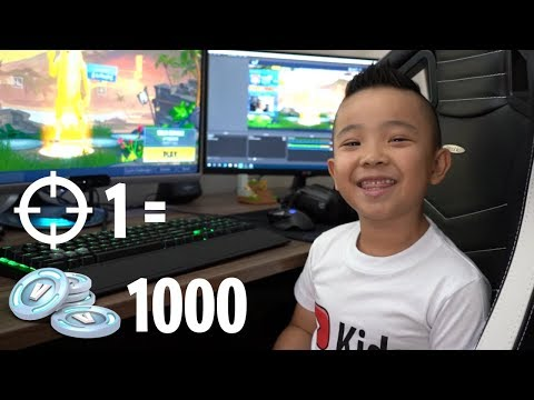 1 KILL = 1000 V BUCKS CHALLENGE Fortnite Gameplay With CKN Gaming