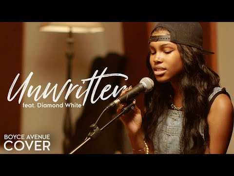 Unwritten - Natasha Bedingfield (Boyce Avenue ft. Diamond White acoustic cover) on Apple & Spotify
