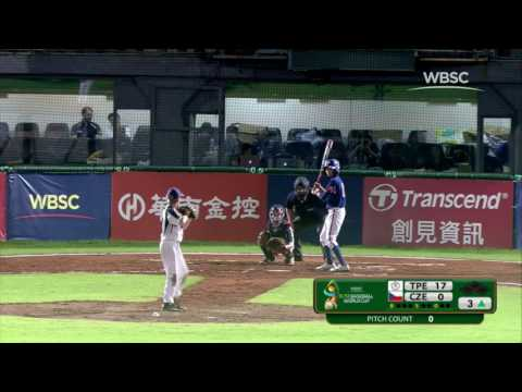 Highlights: Chinese Taipei v Czech Republic - WBSC U-12 Baseball World Cup 2017