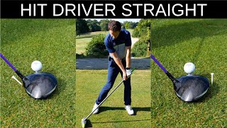 HOW TO HIT DRIVER STRAIGHT EVERY TIME - CRAZY DETAIL