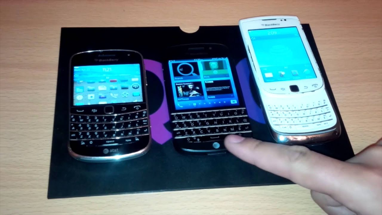 Blackberry q10 compared to bold 9900 and torch 9810 youtube blackberry q10 compared to bold 9900 and torch 9810 ccuart Images