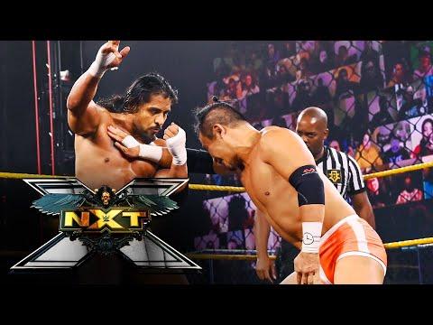 Santos Escobar vs. Kushida – NXT Cruiserweight Champion Match: WWE NXT, April 13, 2021