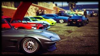 GTA 5 Online BRING ANY CAR 'CAR SHOW' (PS4)