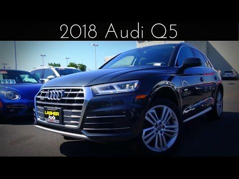 2018 Audi Q5 2.0 L Turbocharged 4-Cylinder Review