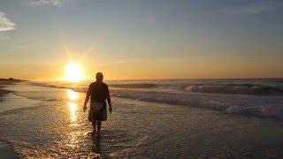 HAMPTONS Sunrise at ocean road,Bridgehampton,New York,on 8/14/10