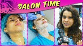 Pranitaa Pandit REVEALS Her Beauty Secrets And Pampers Herself In Salon Time | Kasam Tere Pyaar Ki