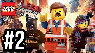 The LEGO Movie Videogame Walkthrough PART 2 Let's Play Gameplay Playthrough PS4 XBOX ONE PC