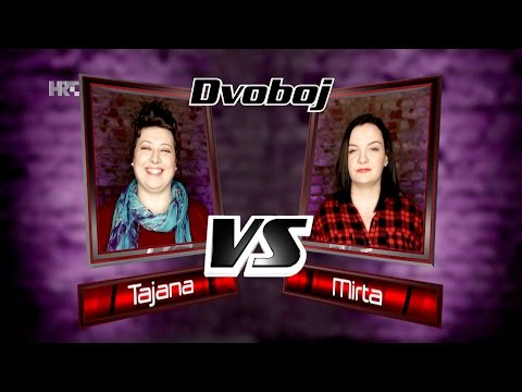"""Tajana vs. Mirta: """"Flashlight"""" - The Voice of Croatia - Season2 - Battle2"""