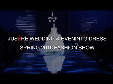 Jusere Wedding & Evening Dress Spring 2016 Fashion Show