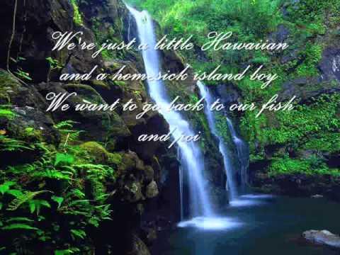 Joni James- My Little Grass Shack In Kalakekua Hawaii (With Lyrics)
