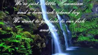 Joni James  - My Little Grass Shack In Kalakekua Hawaii (With Lyrics)