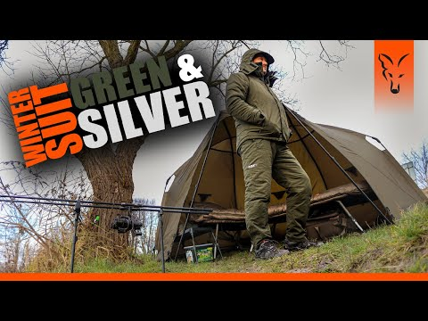 ***Fox Carp Fishing TV Polska*** WINTER SUIT Gren&Silver