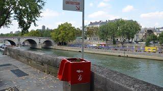 Gambar cover Wildpinkler an der Seine: Paris echauffiert über Freiluft-Urinal