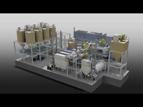 Processing Plant for Calcium Carbonate