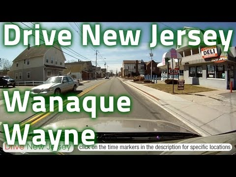 Drive New Jersey - Wanaque to Pompton Lakes to Wayne & Side Streets