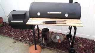 Char Broil Offset Smoker modifications and review