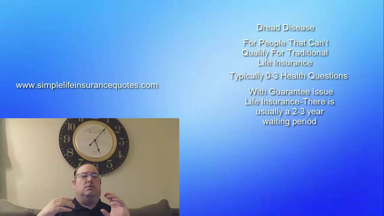 Guaranteed Issue Life Insurance Quotes Life Insurance Without Medical Exam Or Health Questions  Youtube