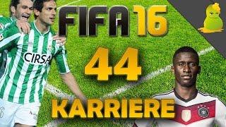 FIFA 16 Karrieremodus #044 - Betis Sevilla - Wir wollen Kohle
