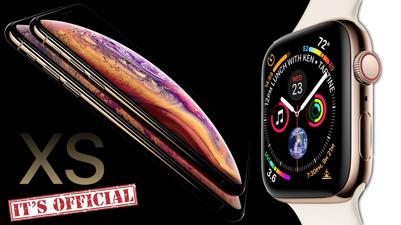 iPhone XS & Apple Watch 4 OFFICIAL LEAK BY APPLE!