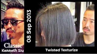 Kenneth Siu's Haircut - Twist Cut