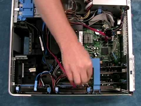 Adding A Hard Drive To A Dell Dimension Youtube