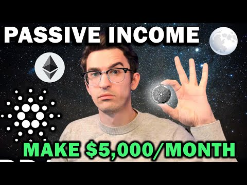 $5k Per Month Staking and DeFi Strategy - Crypto Passive Income 💥