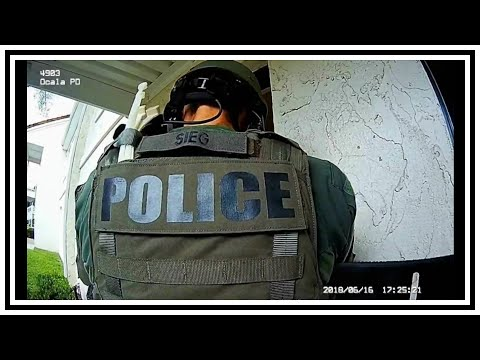 Arrest Of Armed Barricaded Subject | Body Cam | United States | 20180616